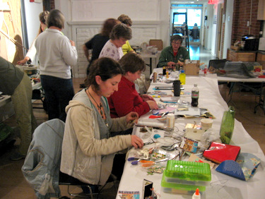 Book Arts Guild of Vermont - Junk Box Books 2009