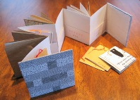 Bookbinding workshop - Recycled Books - Frog Hollow, Burlington, VT