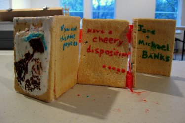 "Book Arts Guild of Vermont - Edible Book ""Mary Pop Tarts"" - April 2010"