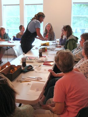 Book Arts Guild of Vermont – Math is Fun! with Judy Sgantas – May  2010
