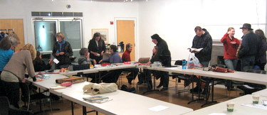 Book Arts Guild of Vermont - Bookbinding Sharing and Support - January 2011