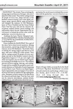 The Mountain Gazette - April 21, 2011