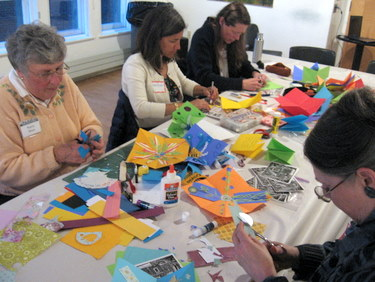 Book Arts Guild of Vermont - Kids to Kids with Ann Joppe-Mercure - May 2011