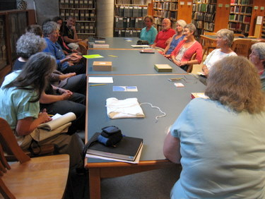 Book Arts Guild of Vermont - UVM Special Collections - August 2011