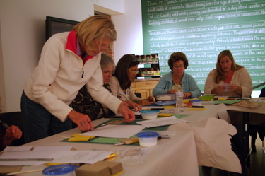 Book Arts Guild of Vermont - State of the B.A.G./Tips and Tricks for Bookbinding Basics - October 2011